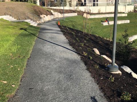 Stabilizer aggregate binder - UBC Library Garden